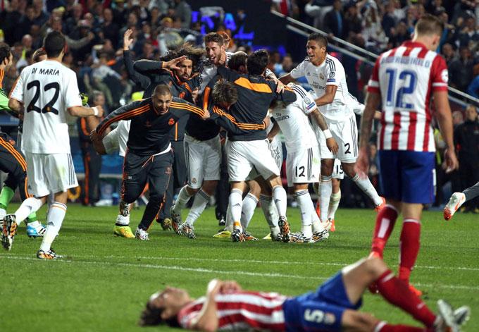 Real Madrid tạo nên kỳ tích tại Champions League