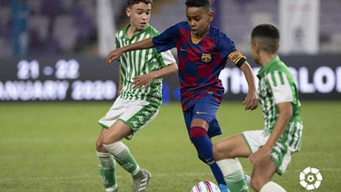 Lamine Yamal: Thần đồng 12 tuổi của lò La Masia trên đường trở thành Messi