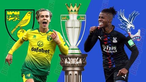 Nhận định bóng đá Norwich vs Crystal Palace, 00h30 ngày 2/1