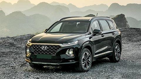 Hyundai Santa Fe 2019 giảm giá mạnh, đối đầu Toyota Fortuner, Mazda CX-8