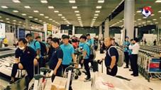 U23 Việt Nam đã có mặt tại Thái Lan, ổn định nơi đóng quân