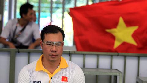 Xạ thủ Hoàng Xuân Vinh vẫn chưa có vé đi Olympic Tokyo 2020   Ảnh: Đức Cường