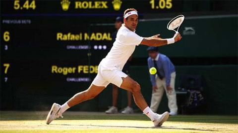 Federer lập kỷ lục 19 năm không ai sánh kịp