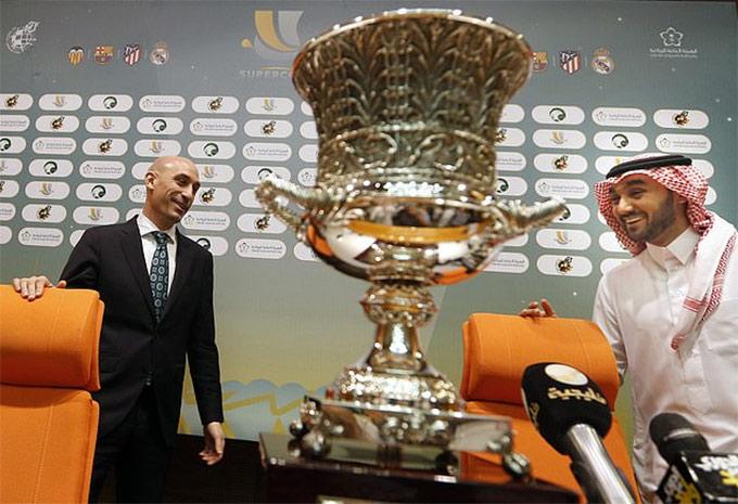 Siêu cúp Tây Ban Nha năm nay diễn ra tại Saudi Arabia