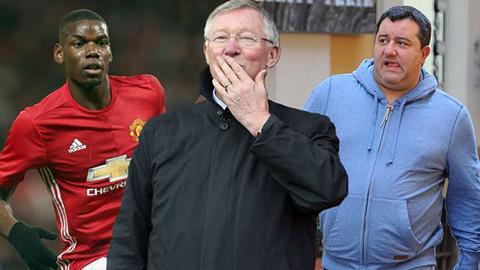 Người đại diện Pogba tiếp tục nói xấu M.U, đụng đến cả Sir Alex
