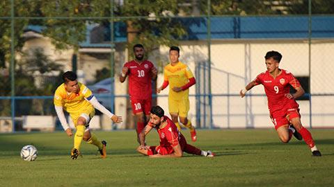 U23 Việt Nam 1-2 U23 Bahrain: Tấn Sinh ghi bàn, U23 Việt Nam vẫn thất thủ trước U23 Bahrain