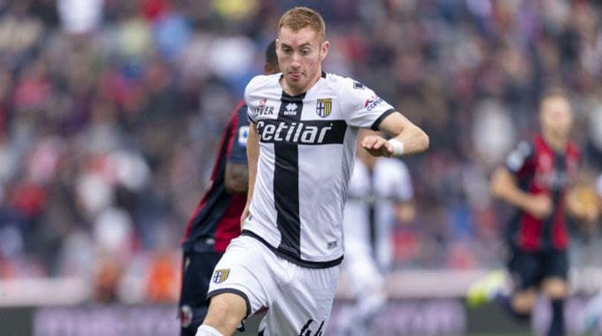 Anh thi đấu cực kỳ ấn tượng khi được cho Parma mượn từ đầu mùa 2019/20