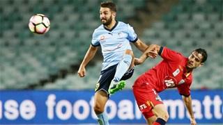 15h30 ngày 4/1: Sydney FC vs Adelaide