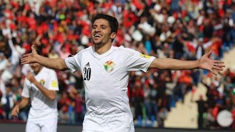 Trước trận gặp U23 Việt Nam, Jordan mất ngôi sao tấn công