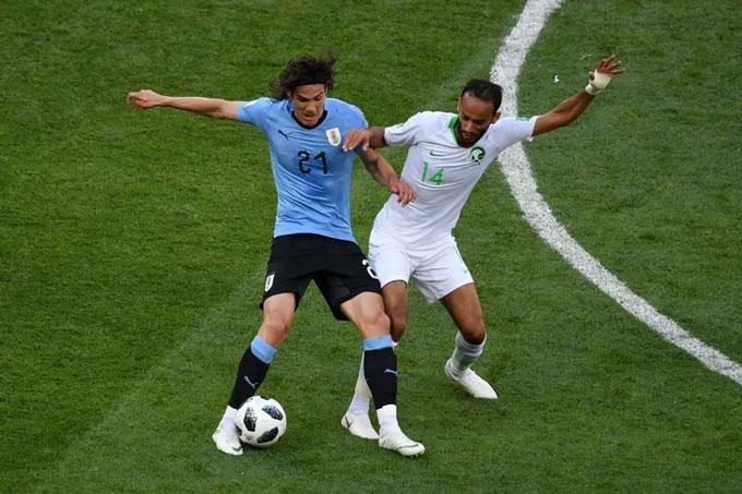 Otayf đối đầu Cavani tại World Cup 2018