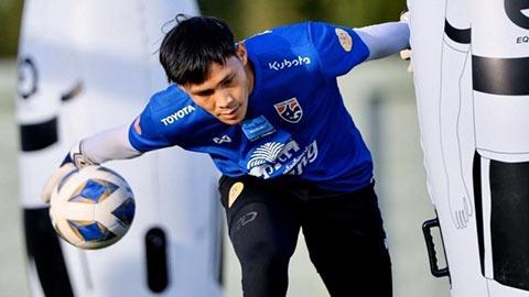 Thủ môn U23 Thái Lan: 'Chúng tôi yếu nhất bảng'