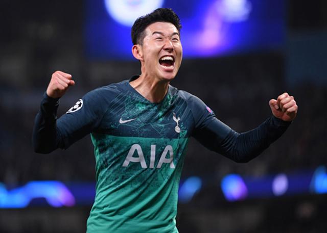 Son đã có năm 2019 khá thành công trong màu áo Tottenham
