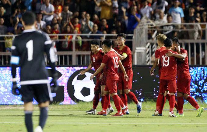 U23 Việt Nam hòa U23 UAE hồi tháng 10 năm ngoái