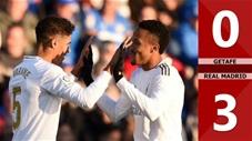 Getafe 0-3 Real Madrid(Vòng 19 La Liga 2019/20)