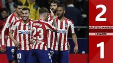 Atletico Madrid 2-1 Levante(Vòng 19 La Liga 2019/20)