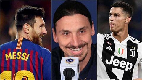 Vừa tới Milan, Ibra đã khiến Messi hả hê, Ronaldo tức lộn ruột