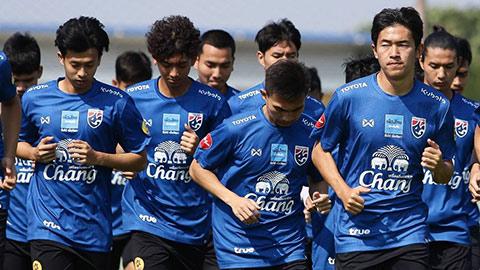 U23 Thái Lan có 2 cầu thủ chấn thương, bất an trước VCK U23 châu Á 2020