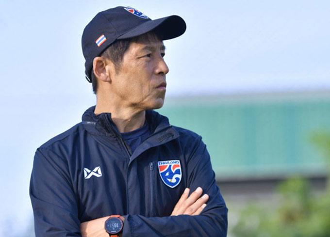 HLV Nishino chưa yên tâm về U23 Thái Lan
