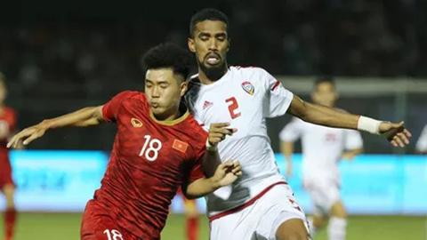 Cầu thủ UAE phải xin phép nếu muốn đánh giá U23 Việt Nam