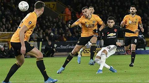 M.U lập thêm kỷ lục tồi tệ ở trận hòa trước Wolves