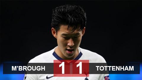 Middlesbrough 1-1 Tottenham: Không thắng trận thứ 3 liên tiếp, Tottenham buộc phải đá lại ở FA Cup