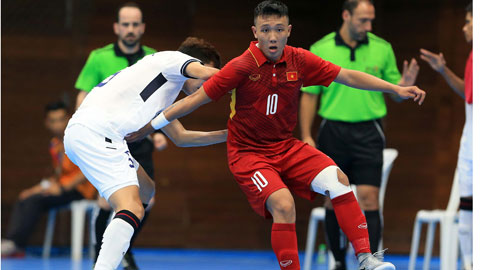 ĐT Futsal Việt Nam hướng đến mục tiêu World Cup 2020
