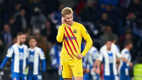 Valverde hậm hực với De Jong không hề sai