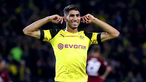 Bayern quan tâm đến Hakimi