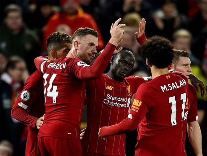 Liverpool đang chiếm ưu thế rõ ràng trong cuộc đua tới ngôi vô địch giải Ngoại hạng