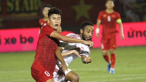U23 UAE dự kiến gặp một đội Thái Lan trước khi đối đầu U23 Việt Nam