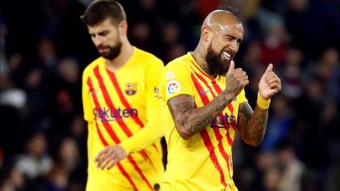 Barca tuyên bố Arturo Vidal không phải để bán
