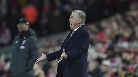 Ancelotti chỉ trích học trò sau trận thua Liverpool