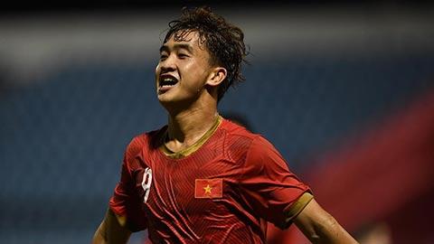 Trở về từ U23 Việt Nam, Danh Trung đầu quân cho đội bóng mới