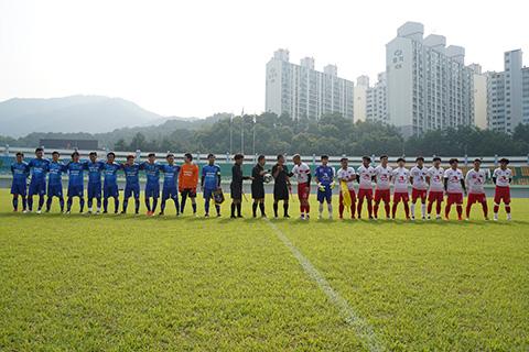 Trận đấu giữa Nam Bộ và Nam Trung Bộ tại Đồng Hương Cup 2019