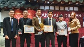 Lần đầu tiên bóng đá phong trào của người Việt tại Hàn Quốc có trao quả bóng vàng