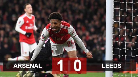 Arsenal 1-0 Leeds: Sống trong sợ hãi, Pháo thủ may mắn lết vào vòng 4 FA Cup