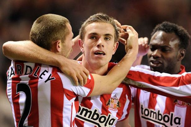 Henderson hồi còn khoác áo Sunderland