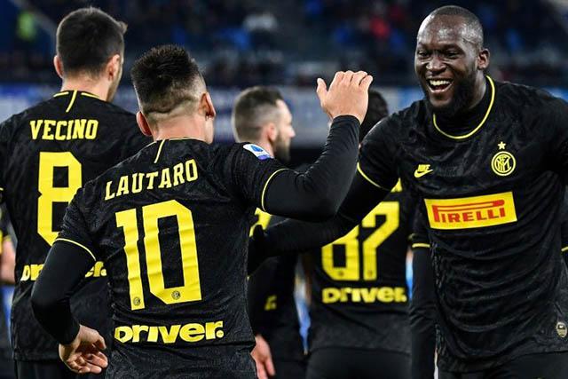Cặp Lukaku và Martinez lại tỏa sáng  mang về chiến thắng cho Inter