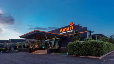 Khách sạn Amari nơi đội tuyển đóng quân