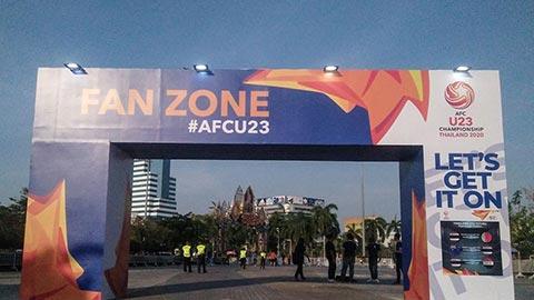 U23 Thái Lan thắng to, khán giả nhà vẫn thờ ơ