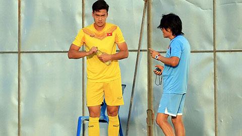 Thêm một trung vệ của HLV Park Hang Seo phải tập riêng