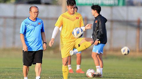 Đại chiến với UAE gần kề, U23 Việt Nam giảm cường độ tập luyện