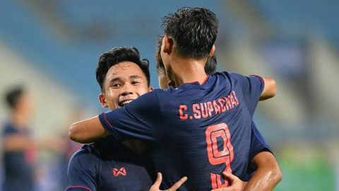 U23 Thái Lan lần đầu tiên thắng ở U23 châu Á nhờ anh em thần đồng