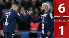 PSG 6-1 Saint-Etienne(Vòng 19 LigeOne 2019/20)
