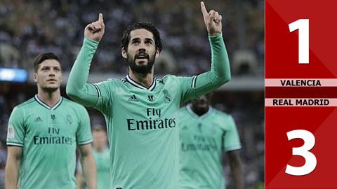 Valencia 1-3 Real Madrid(BK Siêu Cup TBN 2019)