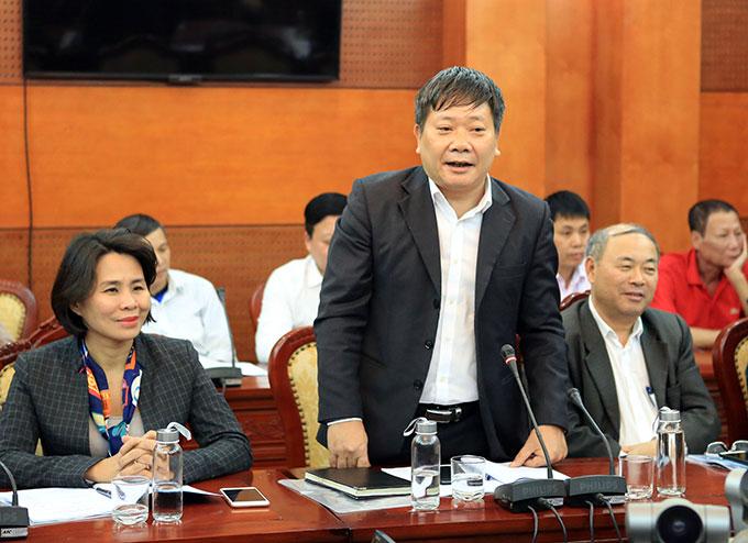 Đại diện lãnh đạo Công đoàn Bộ Văn hóa Thể thao và Du lịch, Tổng cục Thể dục thể thao dự hội nghị tổng kết
