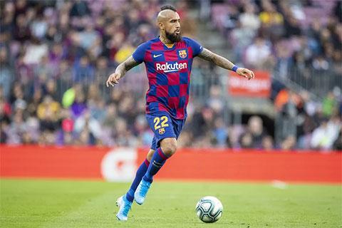 Vidal có vẻ không hợp với lối chơi chung của toàn đội.