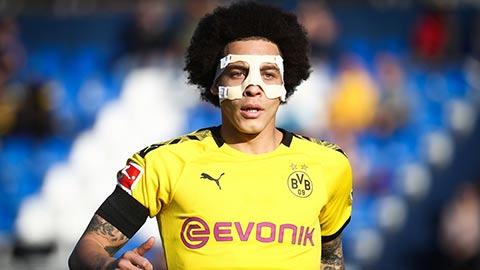 Witsel trở lại Dortmund trong diện mạo mới