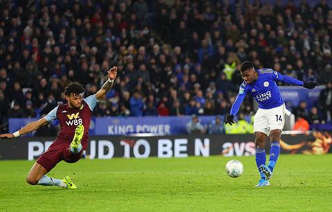 Iheanacho là người hùng của Leicester