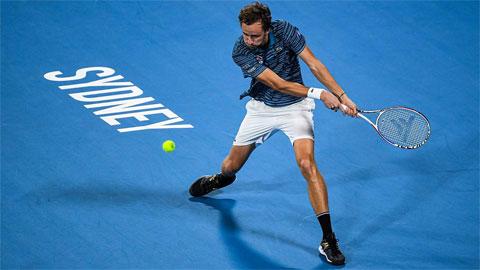 Medvedev cùng Nga vào bán kết ATP Cup 2020